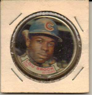 1964 Topps Coins #97 Lou Brock