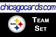 Pittsburgh Steelers 2010 Topps Chrome 8-Card Team Set w/ Sanders Pouncey RC