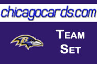 Baltimore Ravens 2010 Topps Chrome 10-Card Team Set w/ Ree Cody Kindle Dickson RC