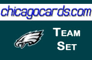 Philadelphia Eagles 2010 Topps Chrome 9-Card Team Set w/ Allen Kafka Graham Cooper Scott RC