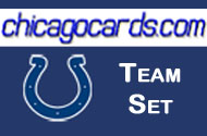 Indianapolis Colts 2010 Topps Chrome 8-Card Team Set w/ Thomas Angerer Hughes RC Manning