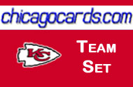 Kansas City Chiefs 2010 Topps Chrome 7-Card Team Set w/ Arenas Berry McCluster RC