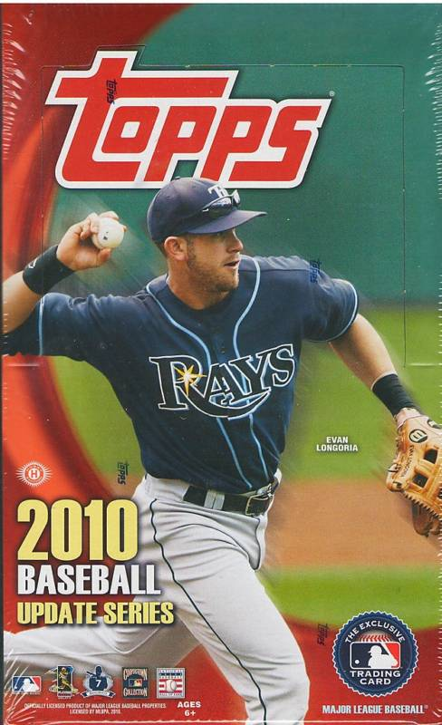2010 Topps Update Series 3 Hobby Baseball Unopened Box (36 Packs)