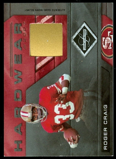 2007 Leaf Limited Hardwear #2 Roger Craig/100