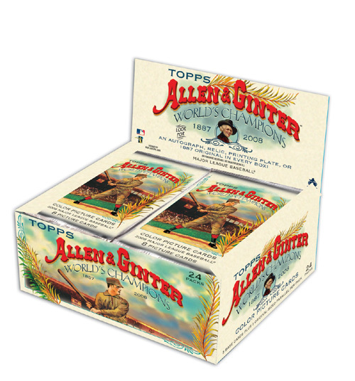 2008 Topps Allen & Ginter Unopened Factory Sealed Retail Box (24 Packs)
