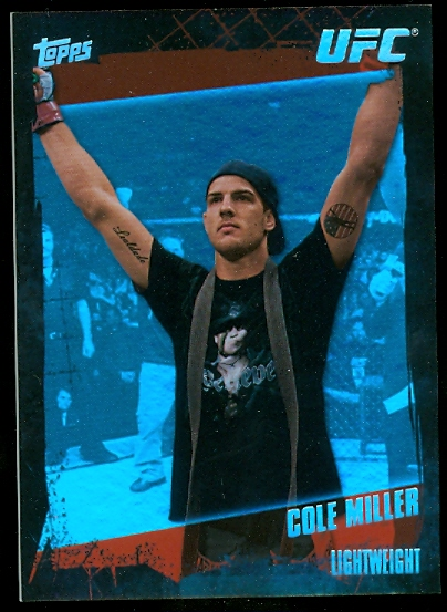 2010 Topps UFC Diamond #21 Cole Miller