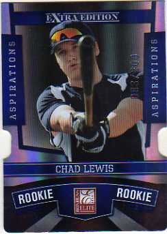2010 Donruss Elite Extra Edition Aspirations #197 Chad Lewis