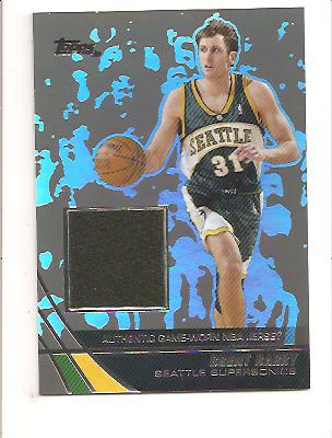 2003-04 Topps Jersey Edition Black #BB Brent Barry