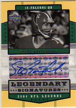 2004 Upper Deck Legends Legendary Signatures #LSSB Steve Bartkowski