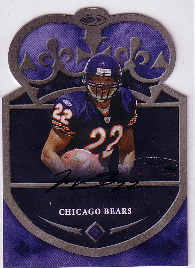 2008 Donruss Threads Crown Autographs #15 Matt Forte