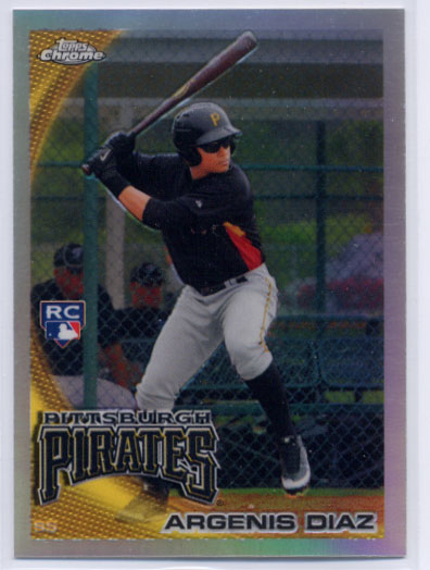 2010 Topps Update Chrome Rookie Refractors #CHR57 Argenis Diaz