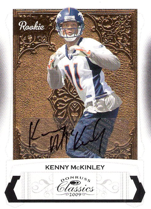 2009 Donruss Classics #210 Kenny McKinley AU/399 RC