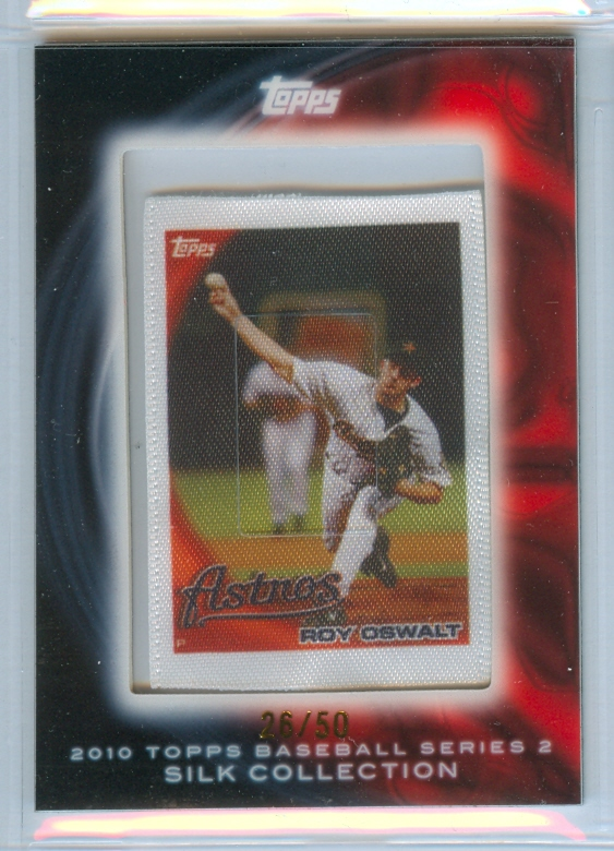 2010 Topps Silk Collection #S119 Roy Oswalt