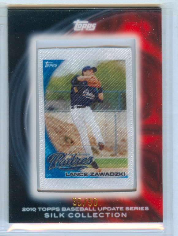 2010 Topps Silk Collection #S281 Lance Zawadzki