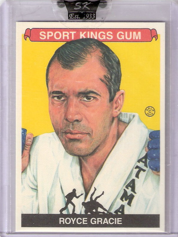 2010 Sportkings #161 Royce Gracie
