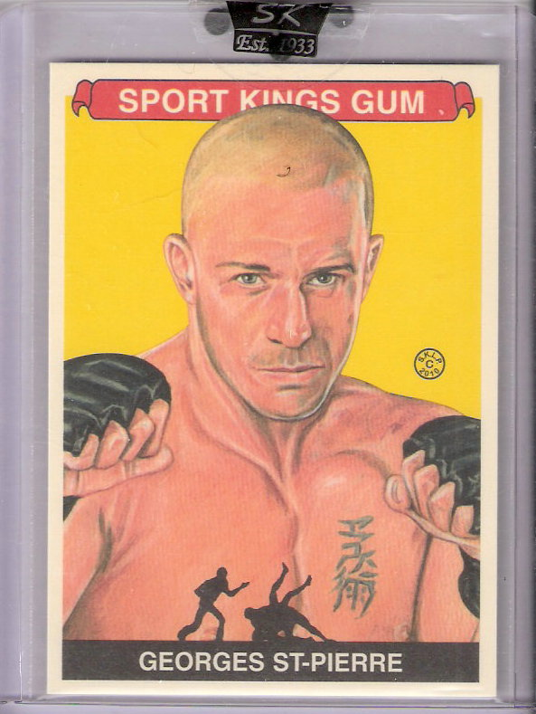 2010 Sportkings #184 Georges St-Pierre