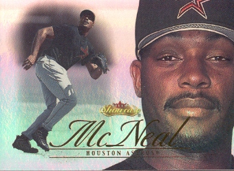 2000 Fleer Showcase Prospect Showcase First #8 Aaron McNeal