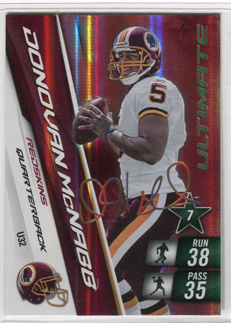 2010 Adrenalyn XL Ultimate Signature #U32 Donovan McNabb
