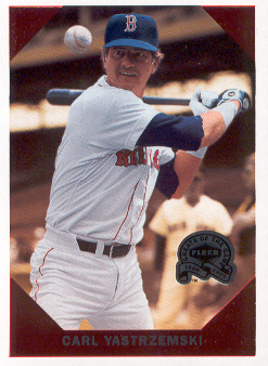 2000 Greats of the Game Retrospection #R13 Carl Yastrzemski