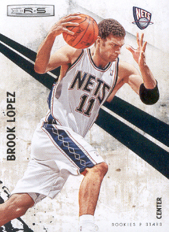 2010-11 Rookies and Stars #5 Brook Lopez