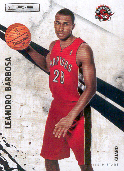 2010-11 Rookies and Stars #15 Leandro Barbosa
