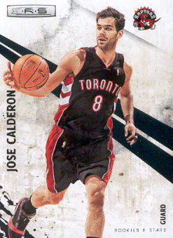 2010-11 Rookies and Stars #16 Jose Calderon