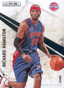 2010-11 Rookies and Stars #25 Richard Hamilton