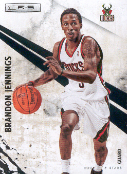 2010-11 Rookies and Stars #31 Brandon Jennings