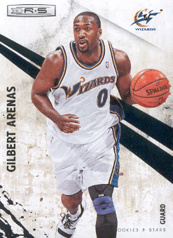 2010-11 Rookies and Stars #48 Gilbert Arenas