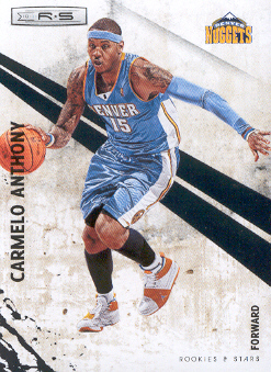 2010-11 Rookies and Stars #67 Carmelo Anthony