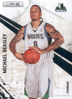 2010-11 Rookies and Stars #72 Michael Beasley