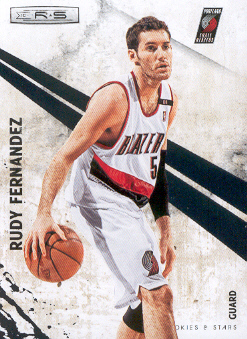 2010-11 Rookies and Stars #75 Rudy Fernandez