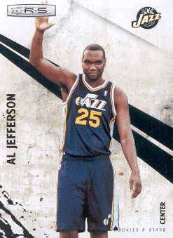 2010-11 Rookies and Stars #81 Al Jefferson