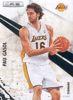 2010-11 Rookies and Stars #91 Pau Gasol