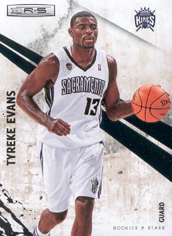2010-11 Rookies and Stars #98 Tyreke Evans front image