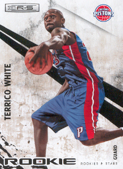 2010-11 Rookies and Stars #118 Terrico White RC
