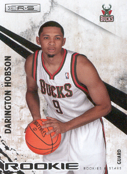 2010-11 Rookies and Stars #119 Darington Hobson RC