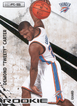 2010-11 Rookies and Stars #124 Tweety Carter RC