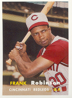 2006 Topps Rookie of the Week #8 Frank Robinson 57