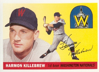 2006 Topps Rookie of the Week #10 Harmon Killebrew 55