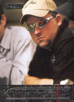2006 Razor Poker #29 Chris Moneymaker