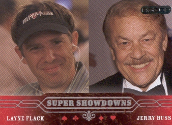 2006 Razor Poker #45 Layne Flack/Jerry Buss