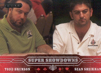 2006 Razor Poker #50 Todd Brunson/Sean Sheikhan