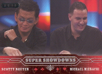 2006 Razor Poker #51 Scotty Nguyen/Michael Mizrachi