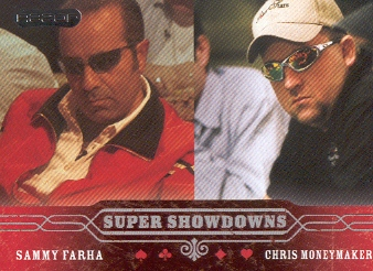 2006 Razor Poker #52 Sammy Farha/Chris Moneymaker