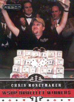 2006 Razor Poker #62 Chris Moneymaker