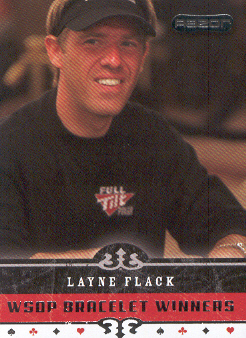 2006 Razor Poker #66 Layne Flack