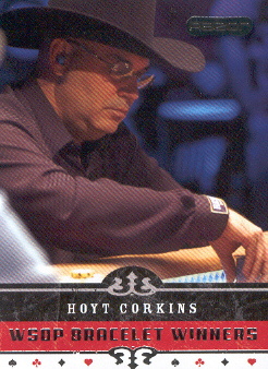 2006 Razor Poker #71 Hoyt Corkins