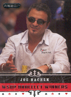 2006 Razor Poker #72 Joe Hachem