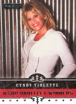 2006 Razor Poker #74 Cyndy Violette